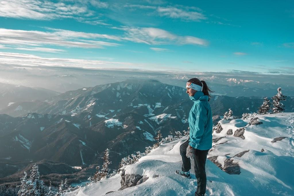 Zimowy trekking w Austrii – góra Hochlantsch