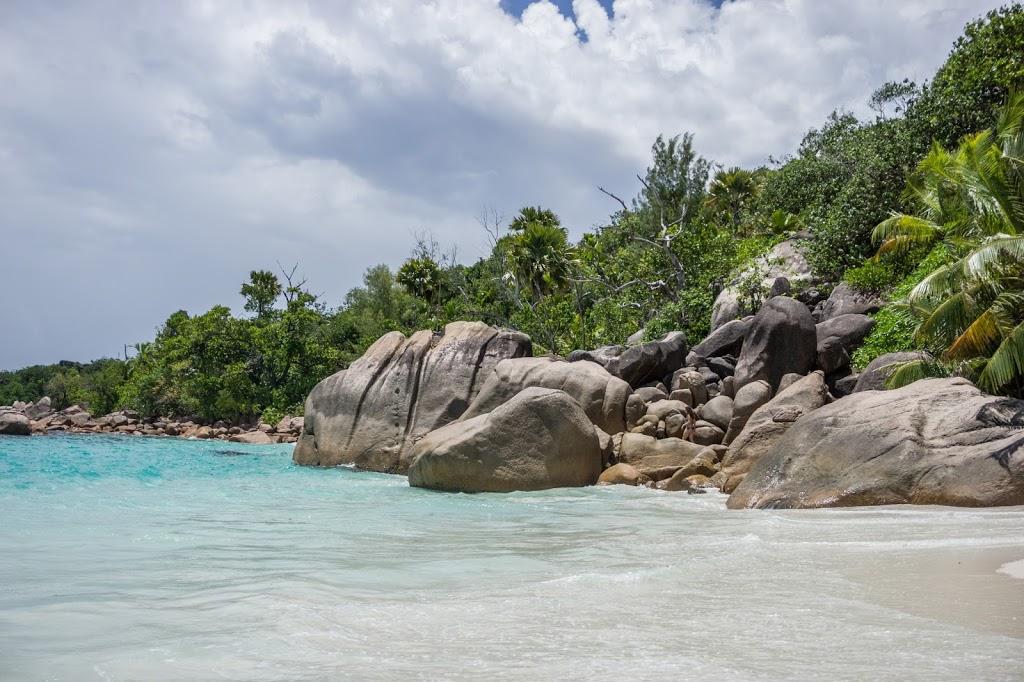 rajska plaża wyspa Praslin Seszele