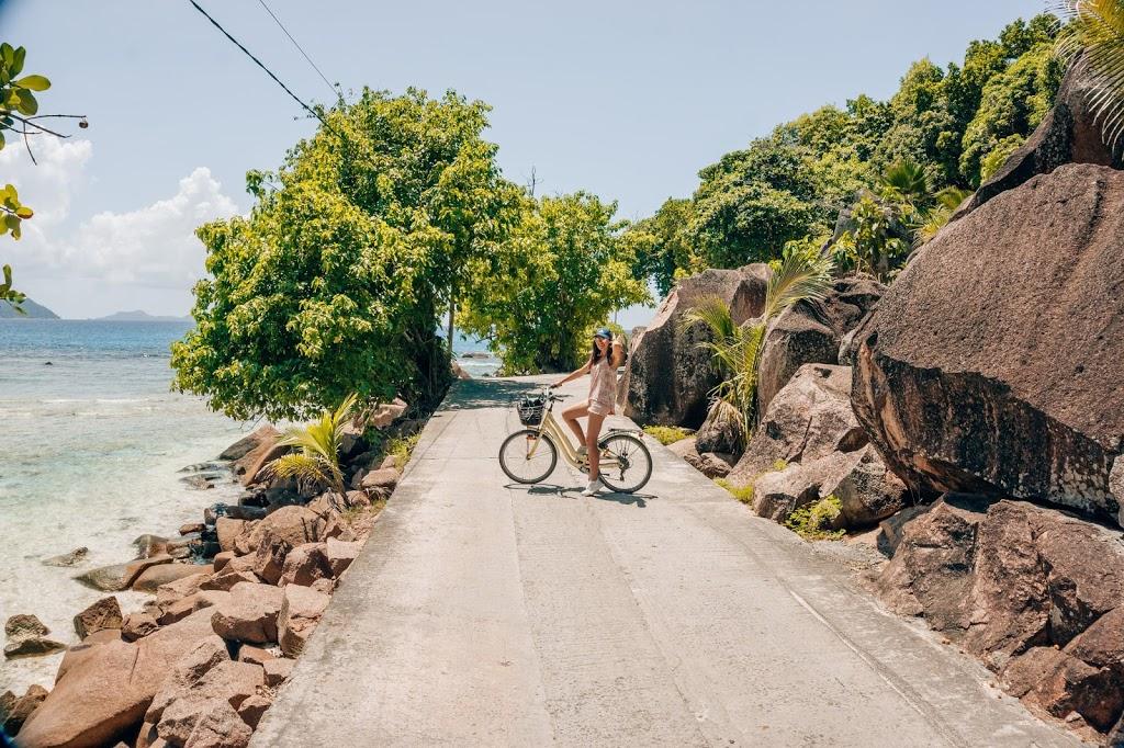 Seszele wypożyczenie roweru na wyspie