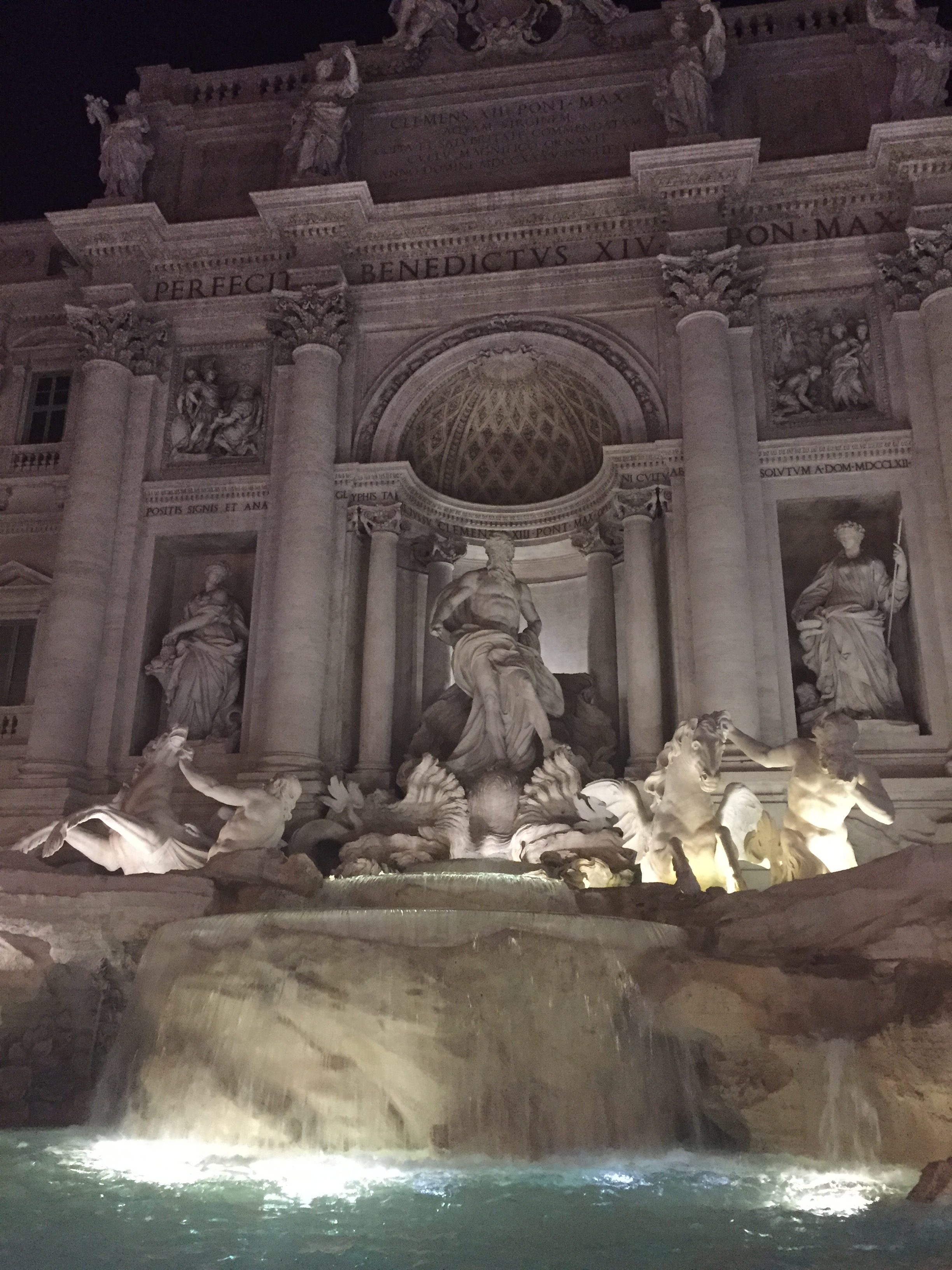 Rome Fountain Di Trevi