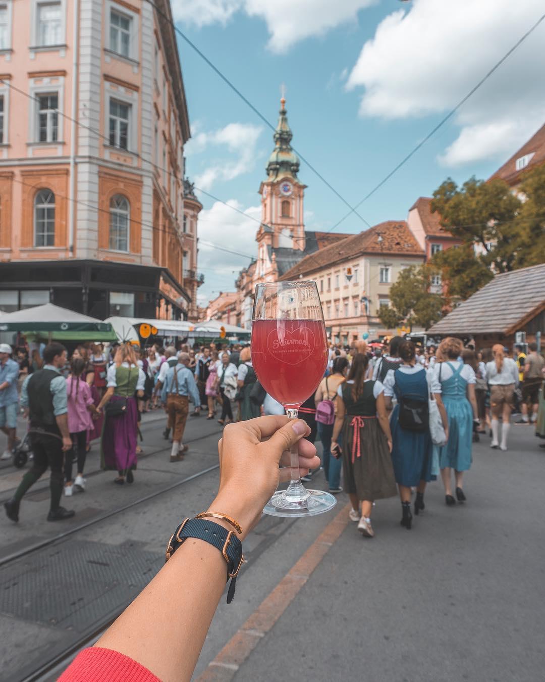 Graz Austria living abroad lifestyle travel blog working in Austria