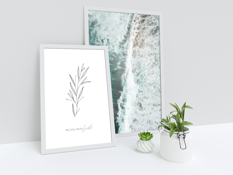 free printable minimalist poster