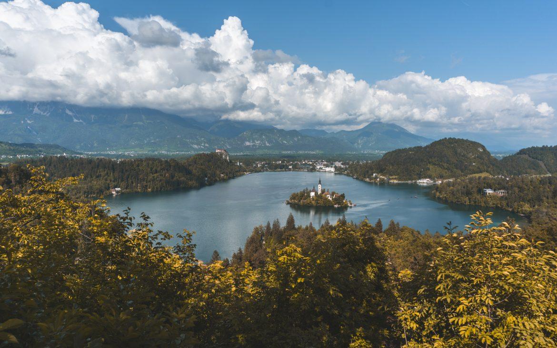 Viewpoint Mala Osojnica Lake Bled Slovenia