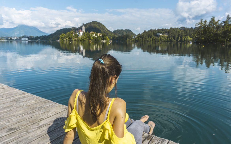 Majówka nad jeziorem Bled Słowenia