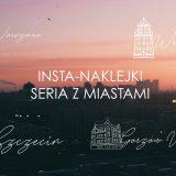 darmowe naklejki na instagram polskie miasta