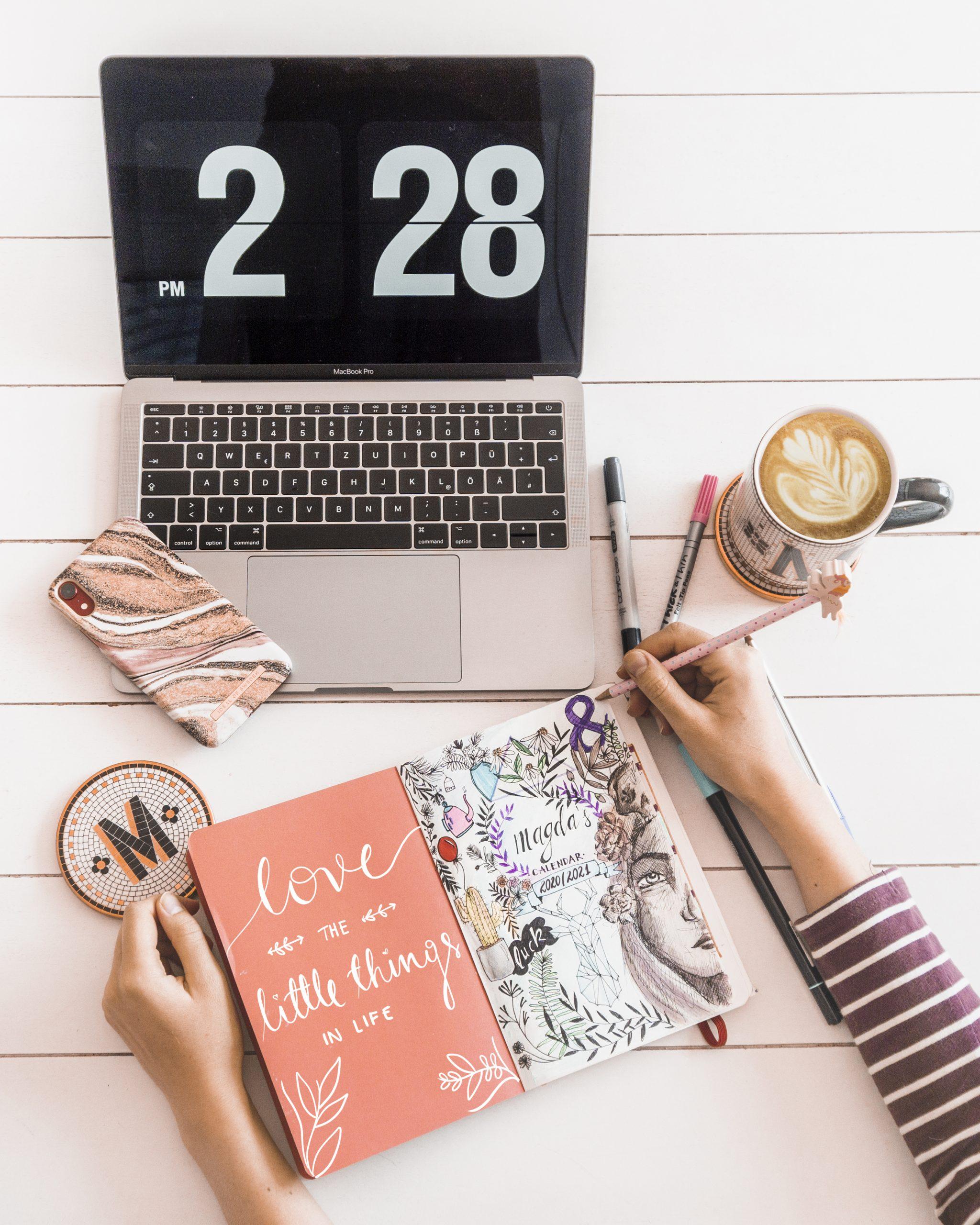 jak pisać ładniej i tworzyć bullet journal